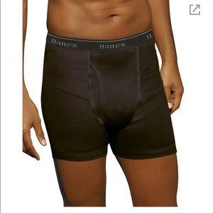 Hanes Ultimate tangles Boxer briefs 5 long leg NEW